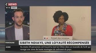 Clément Viktorovitch habille Sibeth Ndiaye pour l'hiver (VIDÉO)