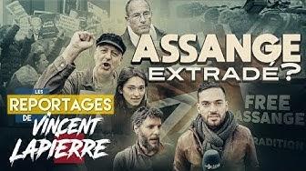 Julian Assange extradé ? (Les Reportages de Vincent Lapierre)