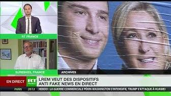 L'avis de Philippe Béchade sur les dispositifs anti fake-news en direct souhaités par LREM (VIDÉO)