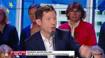 """François-Xavier Bellamy : """"On est en train de devenir une juxtaposition de communautés qui s'éloignent les unes des autres !"""" (VIDÉO)"""