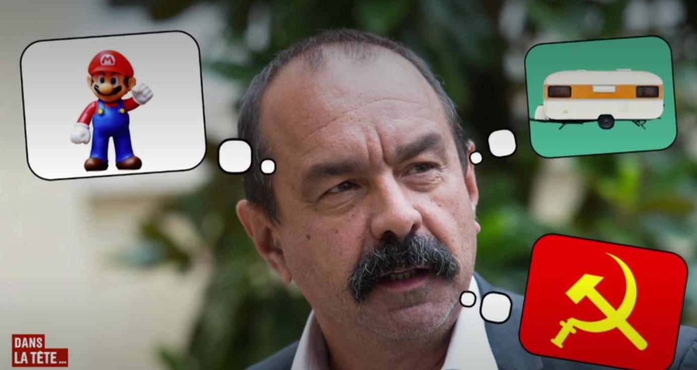 CGT : Philippe Martinez n'a toujours pas renoncé à la lutte des classes (VIDÉO)