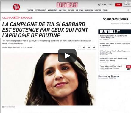 États-Unis : à en croire la presse américaine, la Russie favoriserait la candidate démocrate Tulsi Gabbard (VIDÉO)