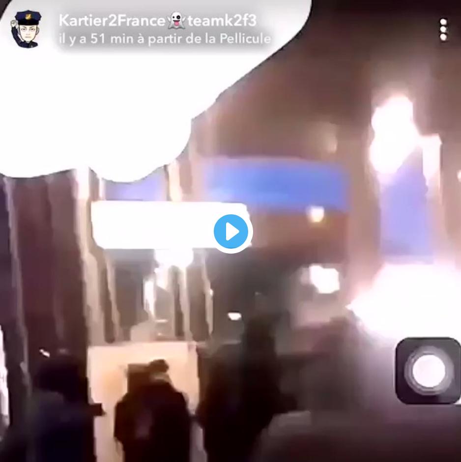 Affrontements entre bandes à la station de RER Palaiseau-Villebon (VIDÉO)