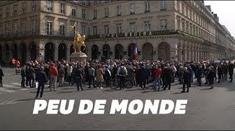 1er-Mai : Une centaine de personnes autour de Jean-Marie Le Pen à Paris (VIDÉO)