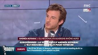 """Élu """"La France Insoumise"""", il appelle à voter pour le Rassemblement National : Andréa Kotarac s'explique (VIDÉO)"""