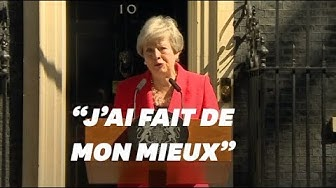 Theresa May a terminé son discours de démission au bord des larmes (VIDÉO)