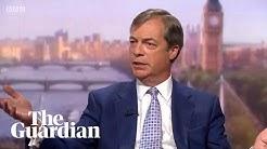 Nigel Farage VS le journaliste-militant Andrew Marr de la BBC (VIDÉO)