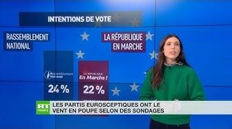 Élections européennes : les partis eurosceptiques ont le vent en poupe