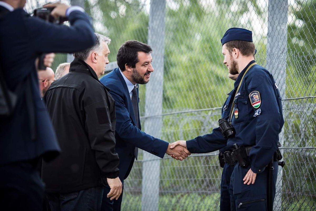 Salvini et Orbán promettent une nouvelle Europe en dépit du Nein de Merkel