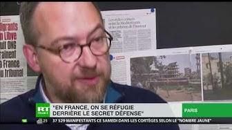 Vente d'armes à l'Arabie saoudite : « En France, on se réfugie derrière le secret défense » (VIDÉO)