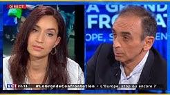 """Eric Zemmour remet en place une étudiante en Erasmus : """"Vous n'êtes pas la jeunesse française"""" (VIDÉO)"""