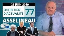 Iran, Parlement européen, Brexit, Manuel Valls et services publics : entretien avec François Asselineau (VIDÉO)