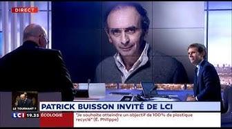 Patrick Buisson confirme travailler avec Éric Zemmour sur une plateforme politique (VIDÉO)