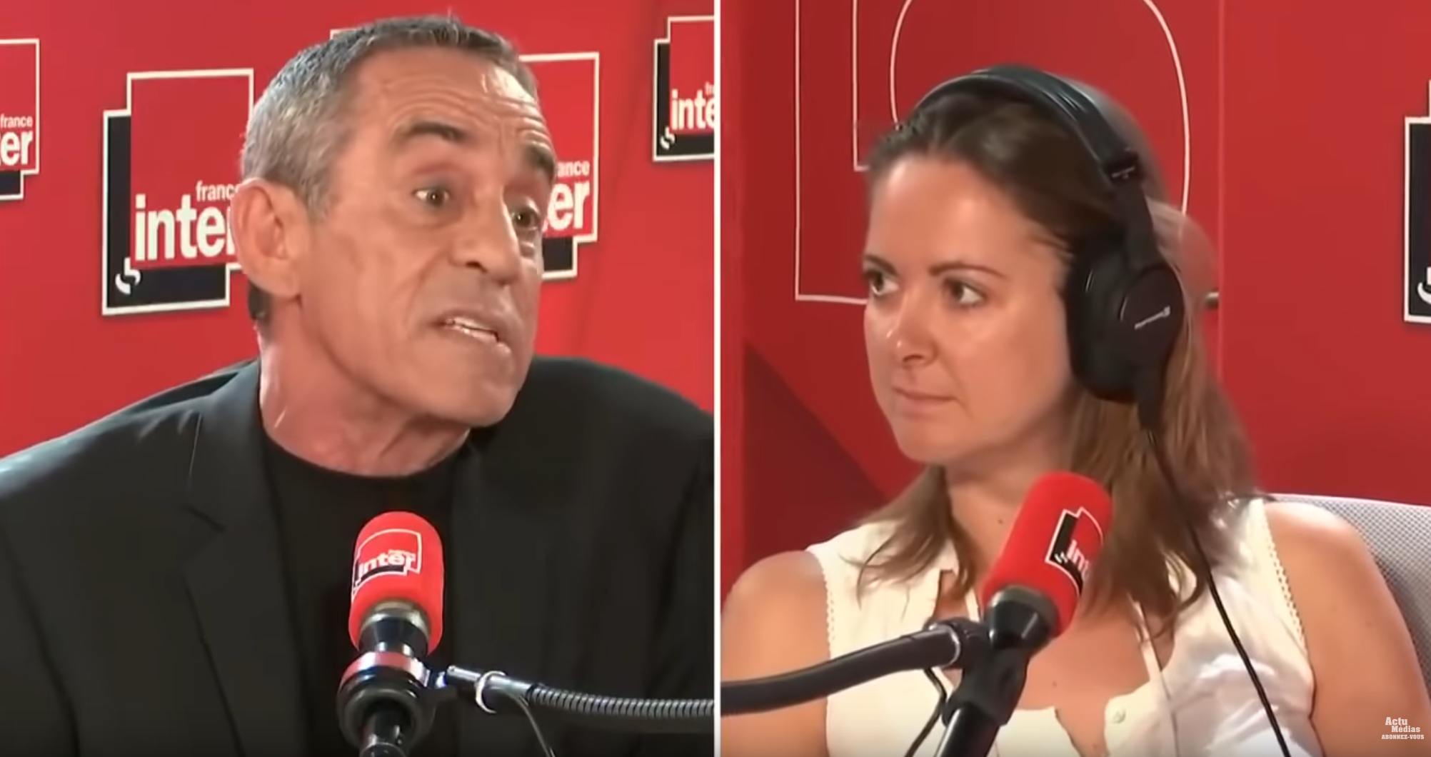 Thierry Ardisson VS Charline Vanhoenacker (VIDÉO)
