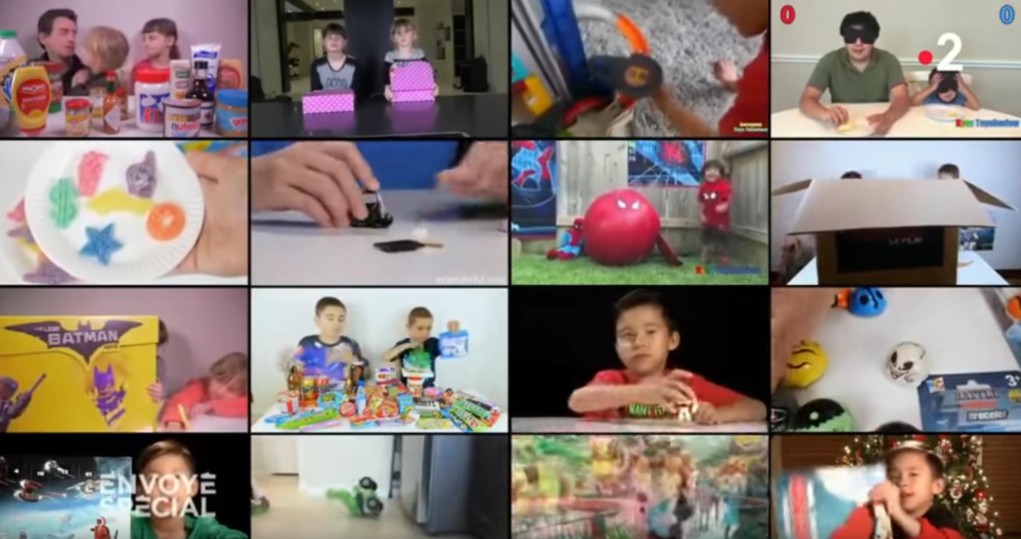 YouTube : enfants sous influence (ENQUÊTE)