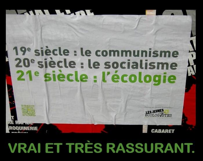 La France, nouvelle théocratie écolo