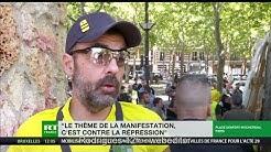 Jérôme Rodrigues : « La démocratie est en danger à cause de la répression du gouvernement » (VIDÉO)