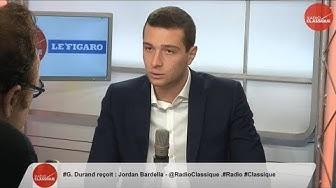 """Jordan Bardella : """"Les déboutés du droit d'asile doivent être renvoyés chez eux"""" (VIDÉO)"""