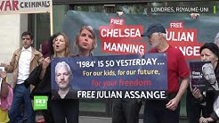 Londres : manifestation en soutien à Julian Assange devant la Cour Westminster Magistrates (VIDÉO)