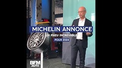 Génie français : Michelin annonce un pneu increvable pour 2024
