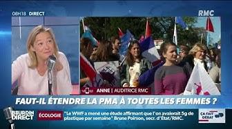 """Débat houleux autour de la PMA sans père sur le plateau de """"Bourdin Direct"""" (RMC)"""