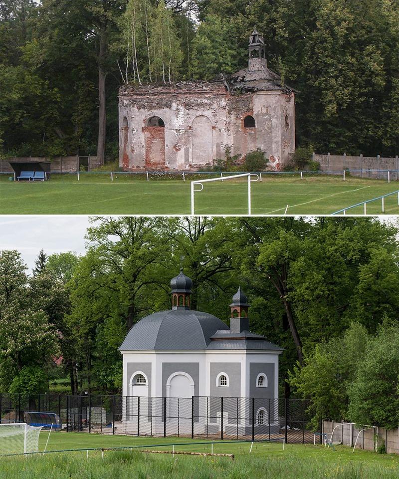 Quand la Pologne restaure son patrimoine (une chapelle de 1734)