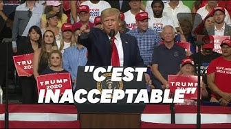Donald Trump lance sa campagne pour 2020 sur un ton très offensif (VIDÉO)
