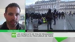 Policiers en correctionnelle : « Maintenant qu'il n'a plus besoin des policiers, le gouvernement veut se racheter une image et condamne sa police » (VIDÉO)