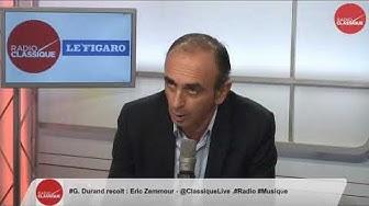 """Éric Zemmour : """"Mélenchon a troqué sa campagne populiste pour une campagne de gauche"""" (VIDÉO)"""