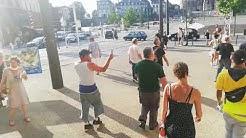 Affaire Schiappa : Sortie sous les gaz lacrymo des Gilets Jaunes jugés au Mans (VIDÉO)