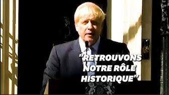 """Boris Johnson à propos du Brexit : """"Les Britanniques en ont assez d'attendre !"""" (VIDÉO)"""