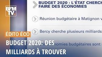 Budget 2020 : des milliards à trouver...