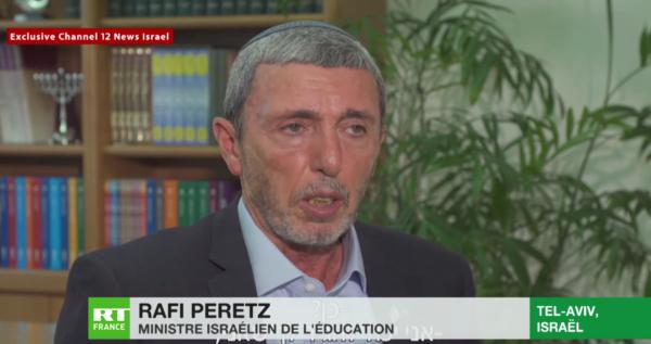 Le ministre de l'Éducation israélien favorable aux « thérapies de conversion » pour les homosexuels (VIDÉO)