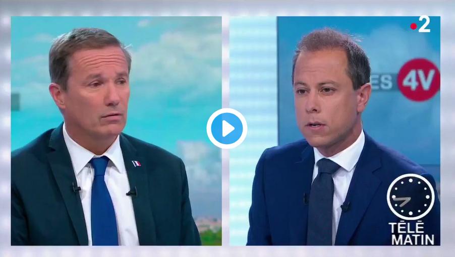 """Nicolas Dupont-Aignan aux supporters algériens : """"La France vous a accueillis, nourris, éduqués, soignés mais si vous préférez l'Algérie, retournez-y !"""" (VIDÉO)"""