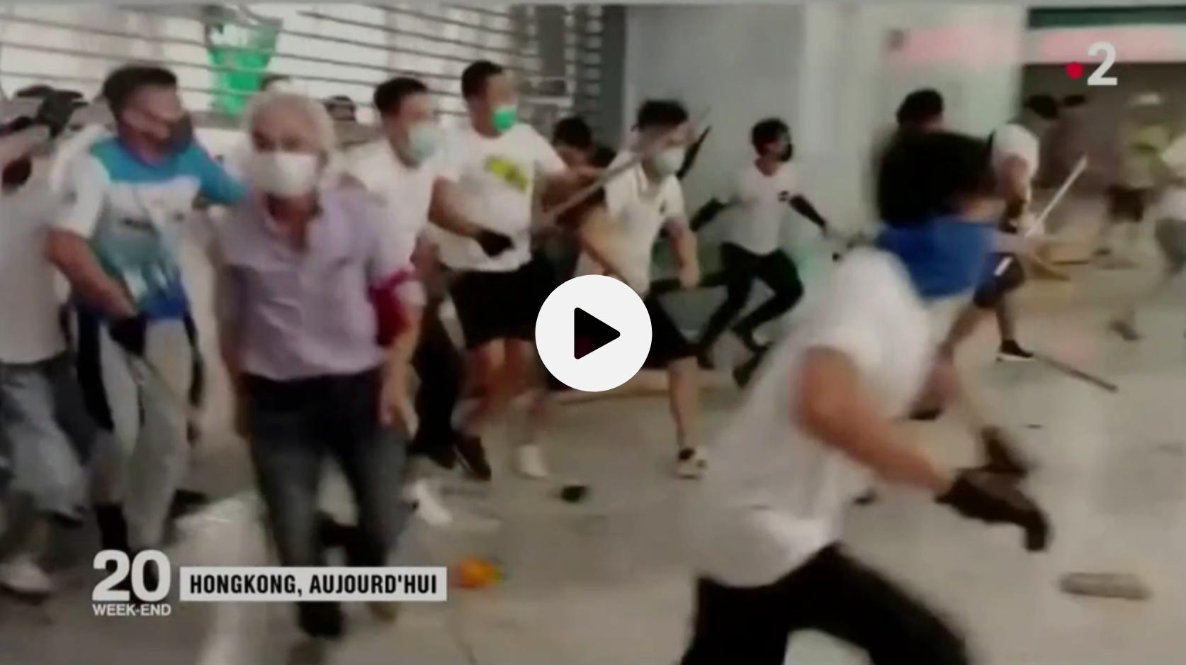 À Hong Kong, quel est le rôle des triades dans les manifestations ? (ANALYSE)