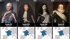 Chronologie des Rois et Présidents de la France (VIDÉO)