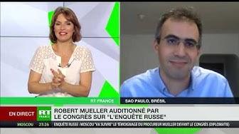 Audition de Robert Mueller par le Congrès : « Trump a de quoi se réjouir » (Driss Ghali)