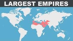 Les 100 plus grands empires dans l'histoire de l'humanité (DATA)