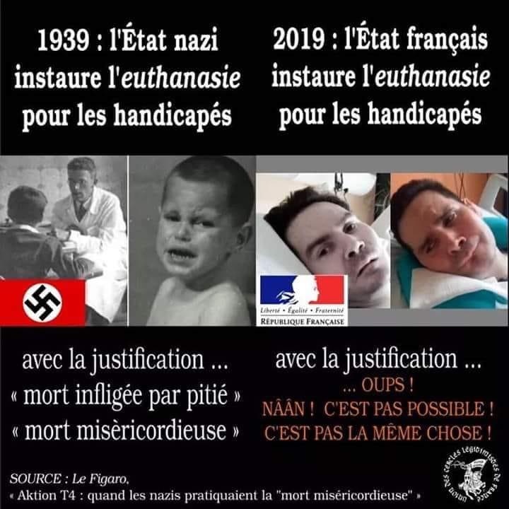 Euthanasie des handicapés = État nazi