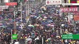Hong Kong : les manifestants veulent créer une panique bancaire