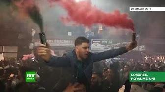 Le Londonistan fête la victoire de l'équipe algérienne (VIDÉO)