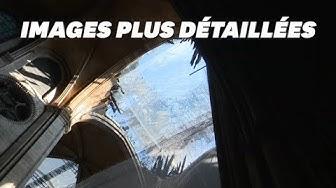 Les nouvelles images des dégâts de Notre-Dame avant sa reconstruction (VIDÉO)