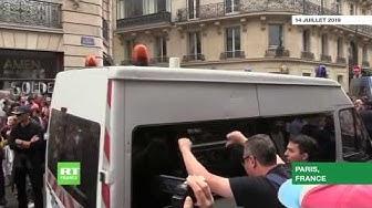 14-Juillet à Paris : scènes de violence en marge du défilé (VIDÉO)