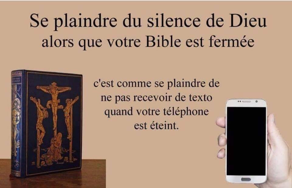 Vous trouvez que le Bon Dieu est silencieux ?