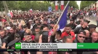 Emmanuel Macron sifflé sur les Champs-Élysées (VIDÉO)