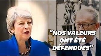 """Theresa May quitte son poste et rappelle la """"priorité absolue"""" du Brexit (VIDÉO)"""