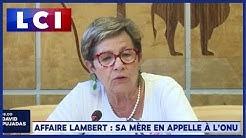 """La mère de Vincent Lambert implore l'ONU de venir au """"secours"""" son fils (VIDÉO)"""