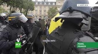 Des heurts éclatent à Paris lors de « l'acte XL » des Gilets jaunes (VIDÉO)