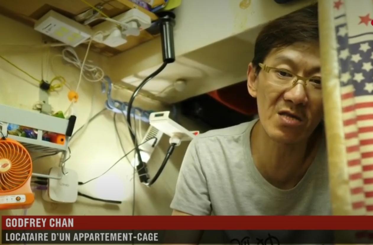 "Hong Kong : l'enfer des ""appartements-cages"" (REPORTAGE)"