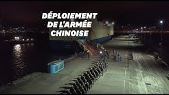 La Chine dévoile une vidéo menaçante de soldats en route pour Hong Kong
